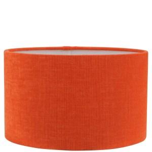 Lampenkap oranje katoen cilinder TLI2503 25x25x25cm