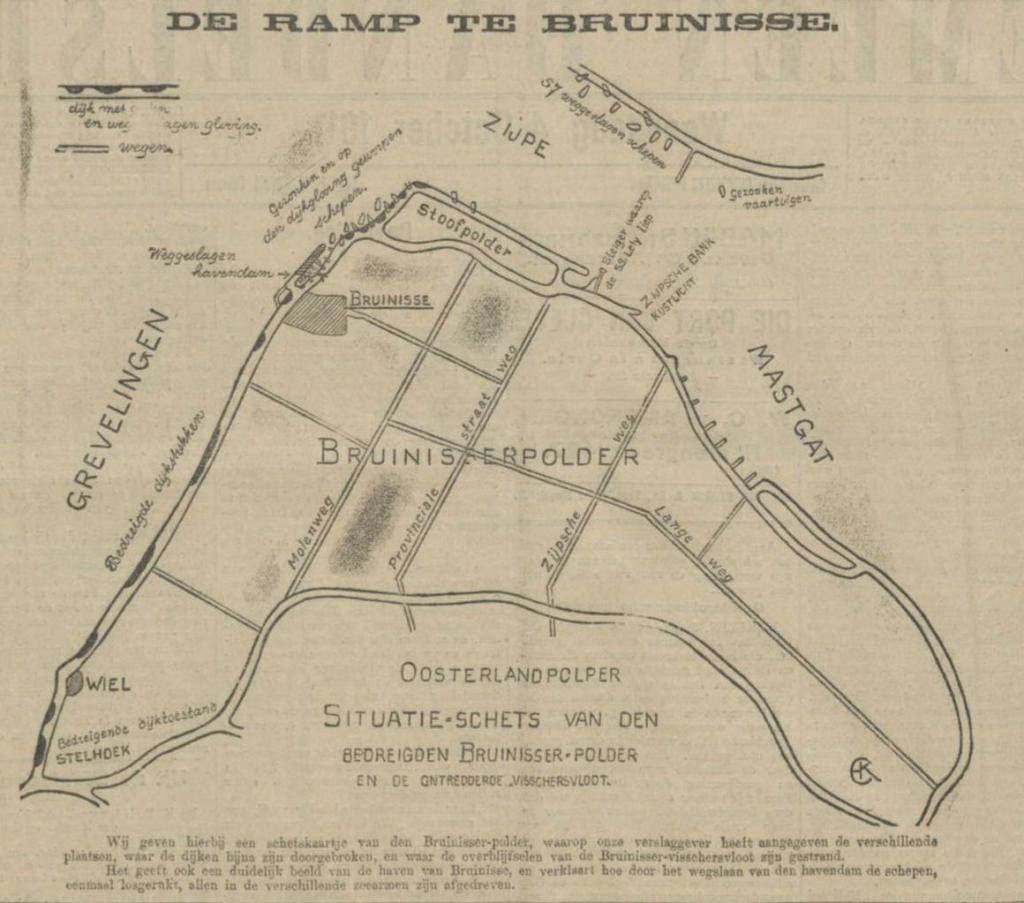 De stormramp van 1911