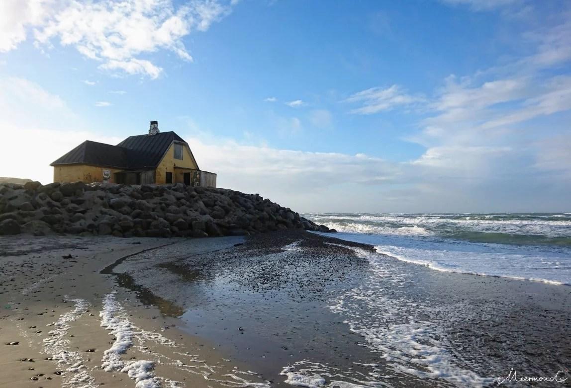 Haus im Meer bei Skagen