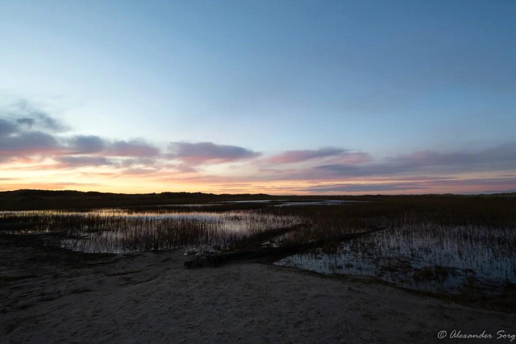 Dänemark Grenen See Landbildung
