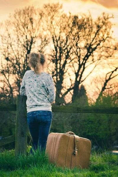 Koffer auswandern nach Dänemark
