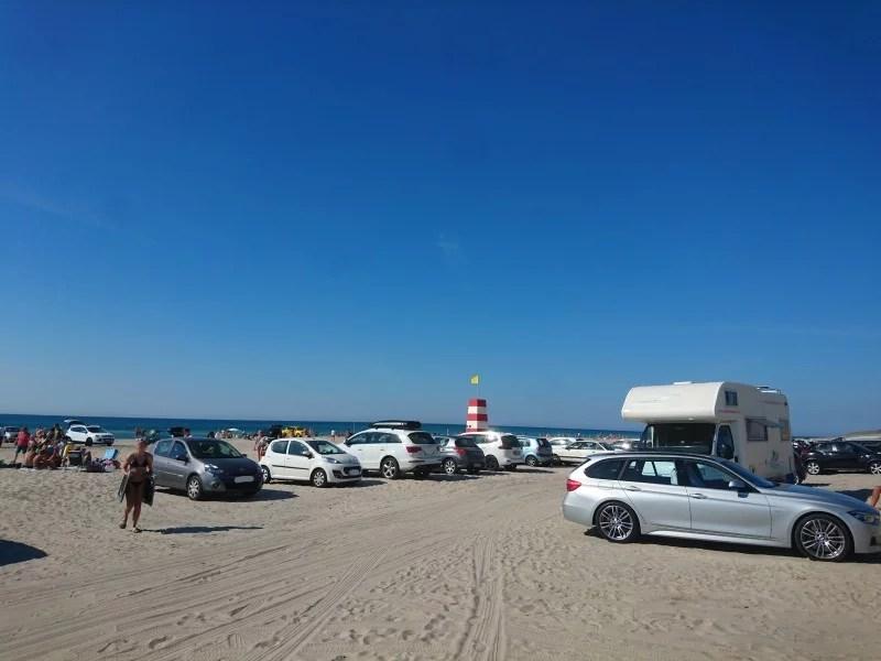 Strand Dänemark Auto