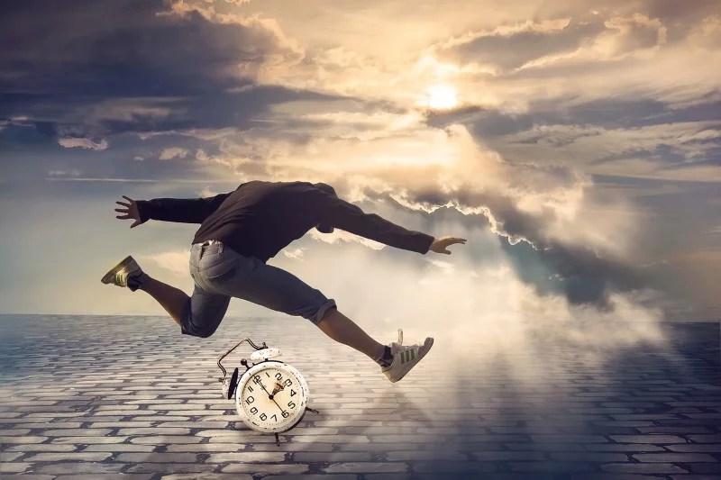 Zeit Hektik Laufen