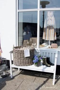Einkaufen Hirtshals Deko Kleidung