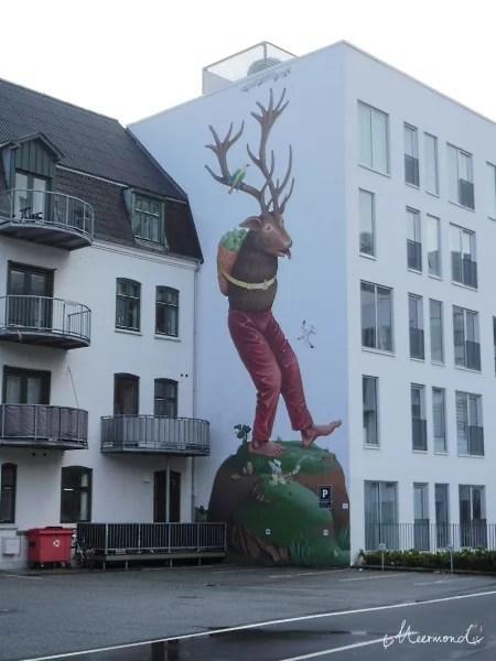Graffiti Hirsch Aalborg