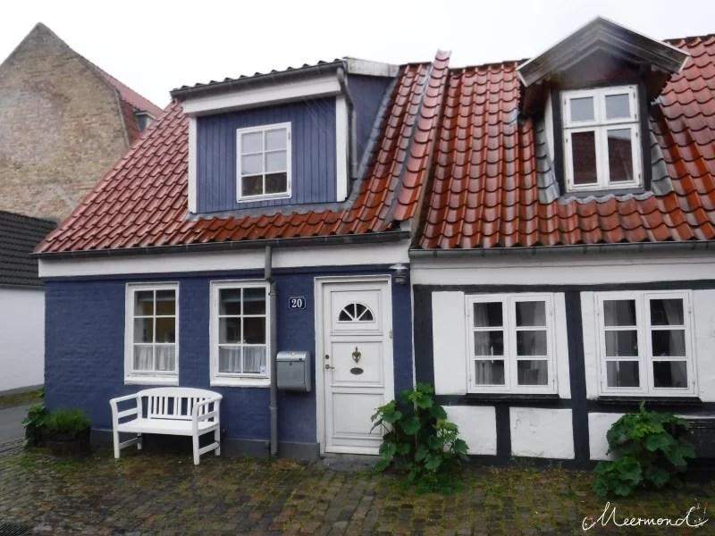 Klokkestøbergade Aalborg historische Häuser
