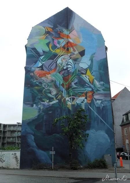Aalborg Løkkegade Streetart