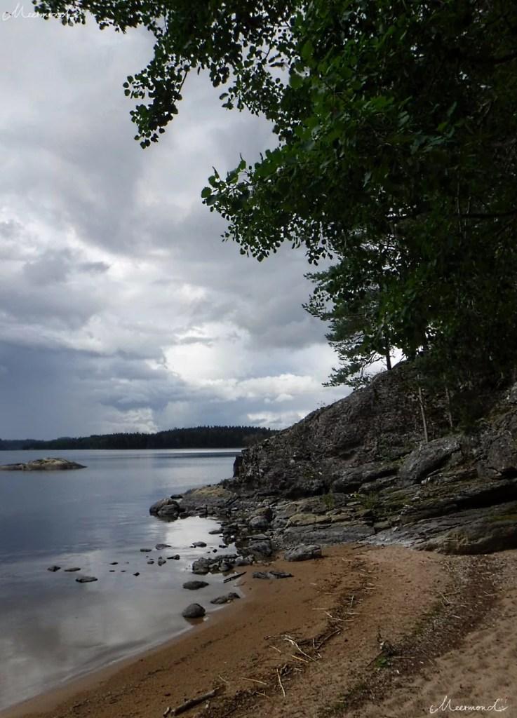 Felsen See Schweden