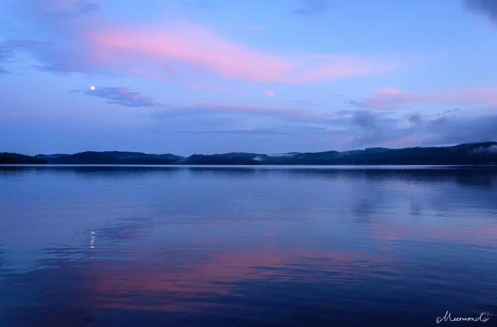 Vollmond See Schweden