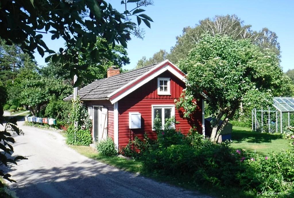 Schweden rotes Haus