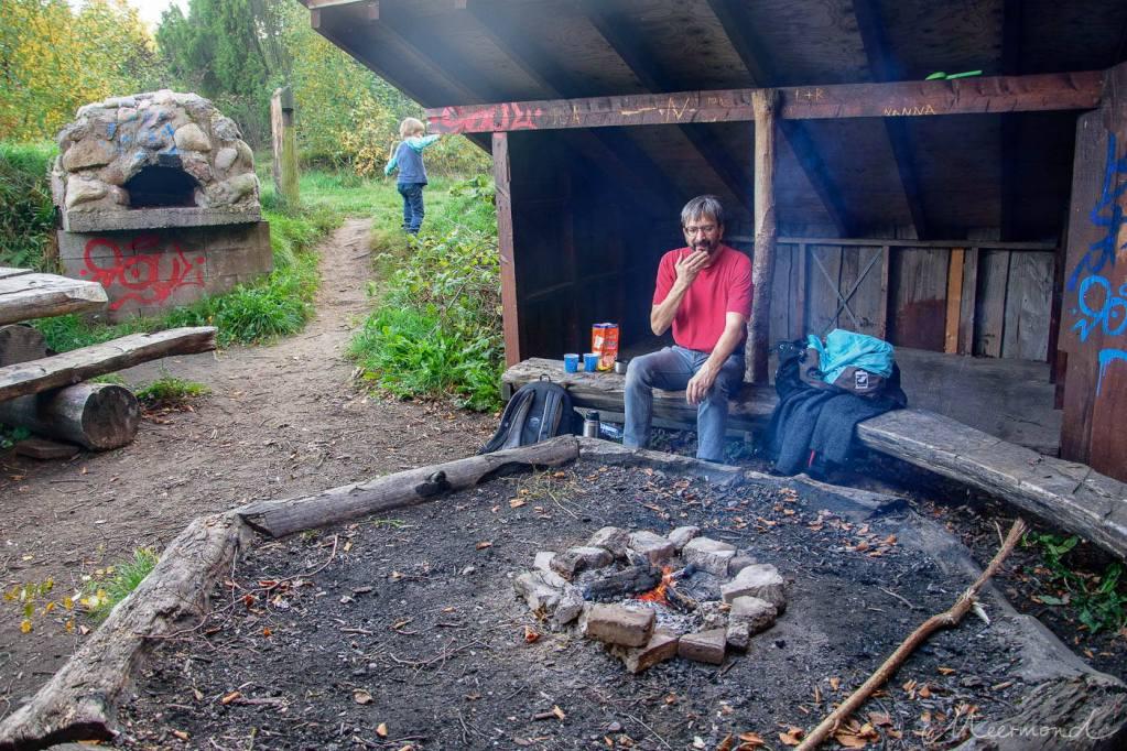 Lagerfeuer bei Hammer Bakker