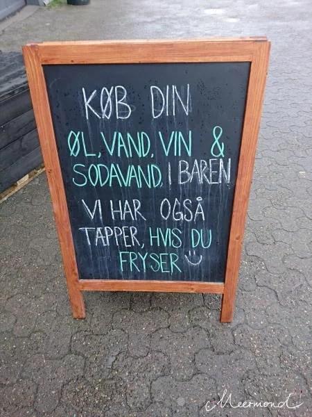 Schild Aalborg Streetfood