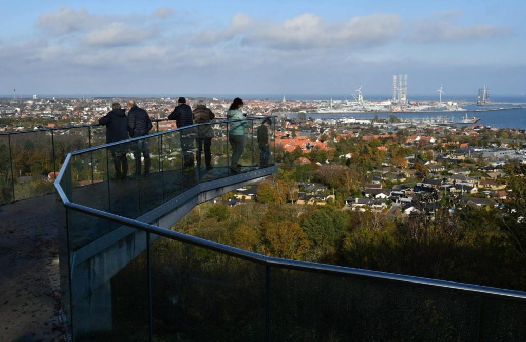 PIkkerbakken Aussicht auf Frederikshavn