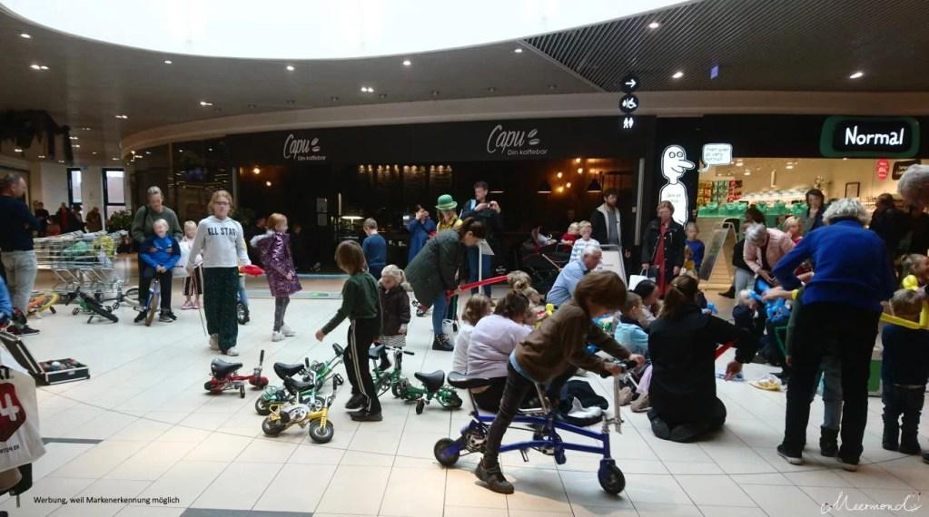 Kinderanimation in dänischem Einkaufszentrum