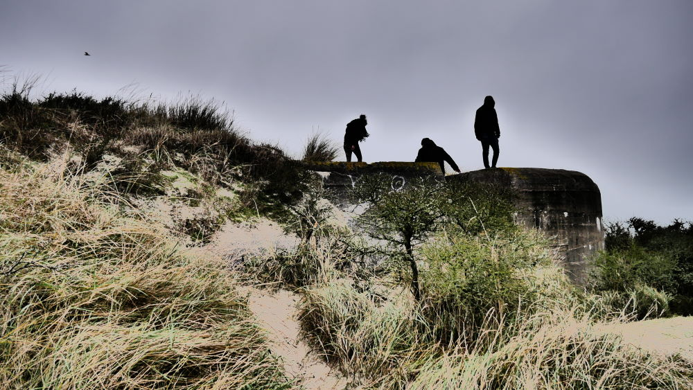 Geocache bei den Bunkern bei Blåvand