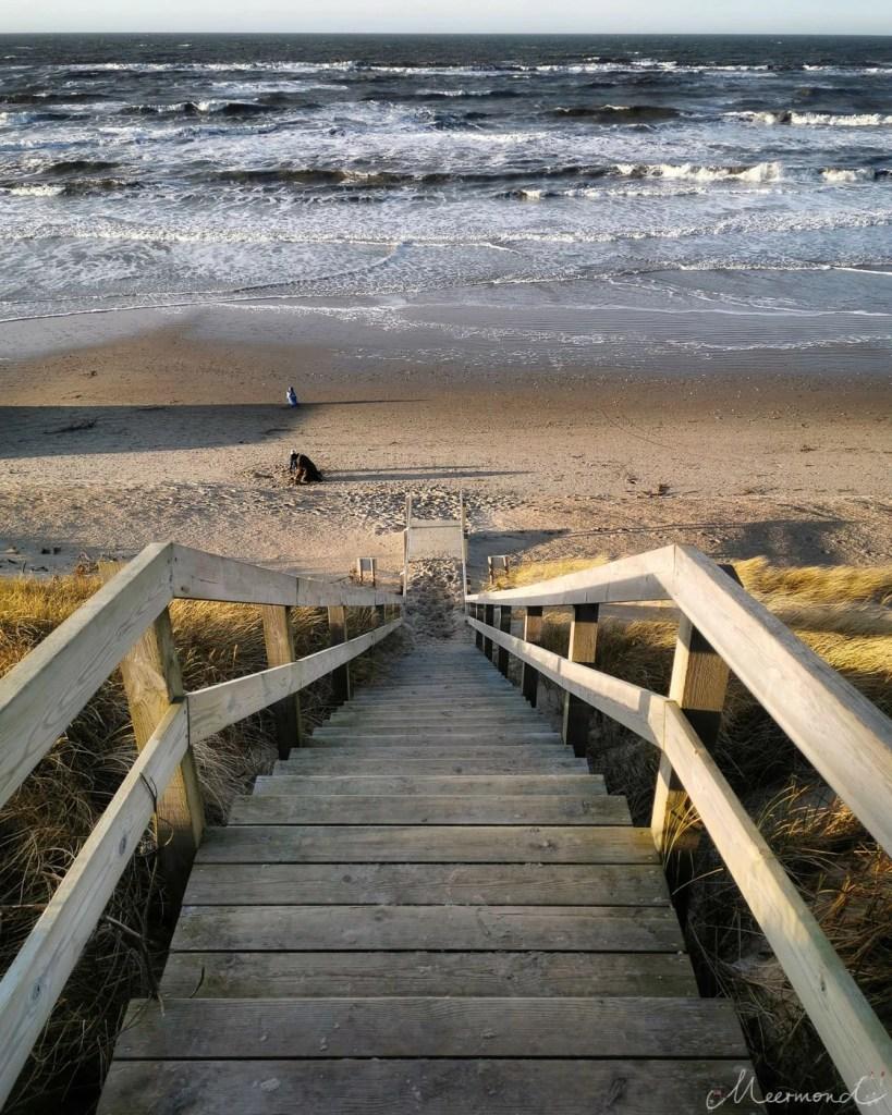 Løkken - Treppe zum Strand
