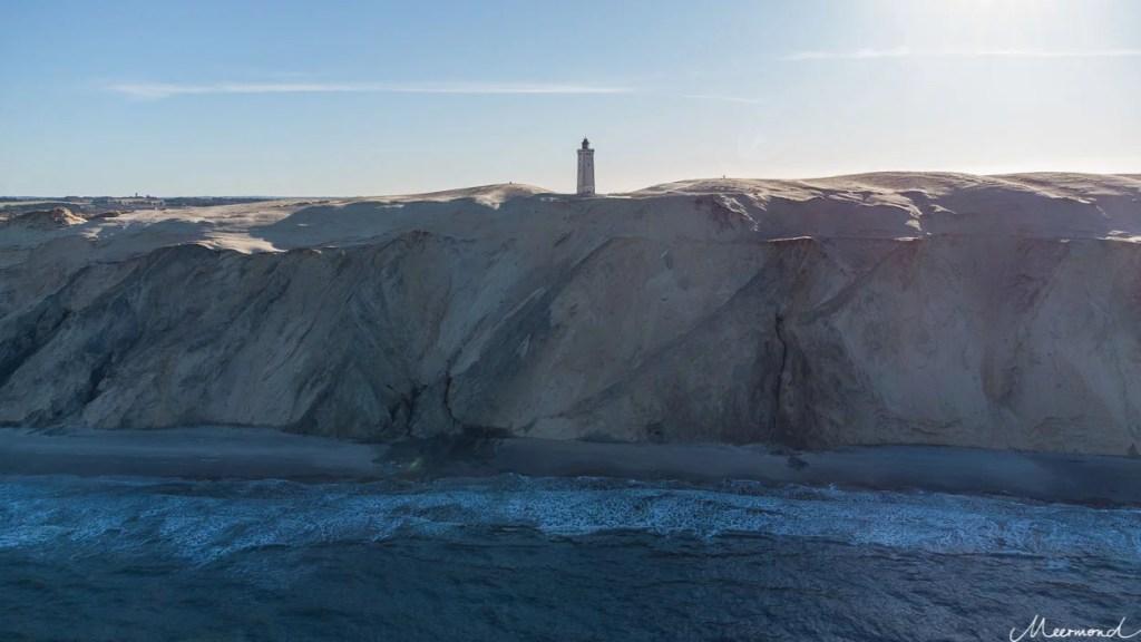 Drohnenfoto Leuchtturm Rubjerg Knude Fyr