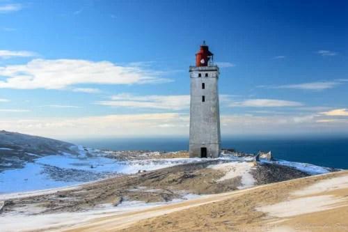 Rubjerg Knude im Winter
