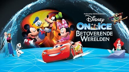Betoverende werelden van en met Disney On Ice