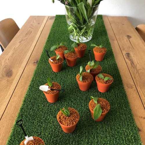 Suus bakt: een potje lente cupcakes