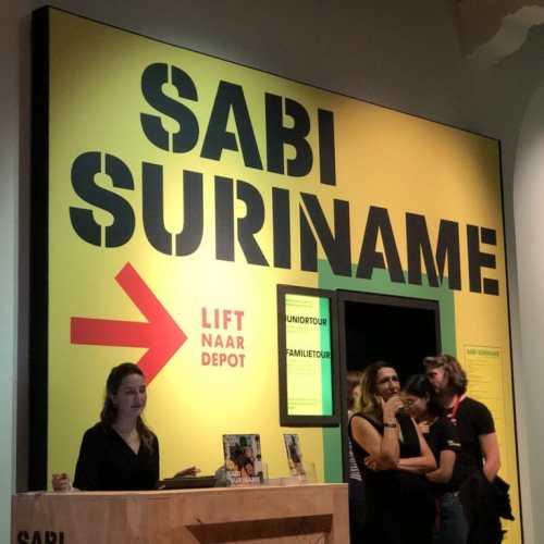 De tentoonstelling Sabi Suriname in het Tropenmuseum