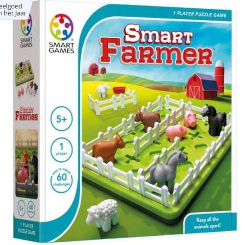 Dieren scheiden met Smart Farmer van SmartGames