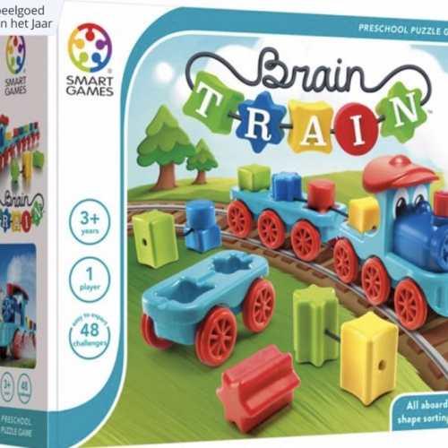 SmartGames voor peuters: de Brain Train
