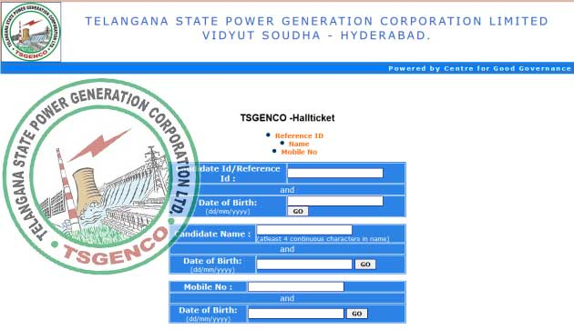 Download TS Genco Hall Ticket