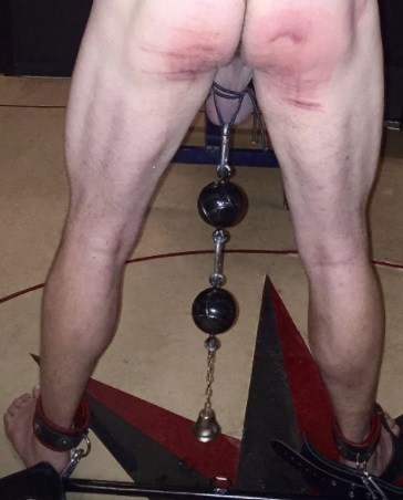 Ball Bondage with Weights