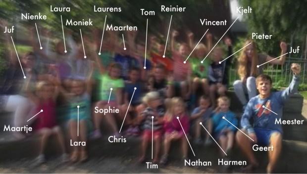 This by Tinrocket 1.0.2 (101) Meester | Nathan | Tim | Sophie | Chris | Vincent | Pieter | Juf | Nienke | Laura | Moniek | Laurens | Maarten | Lara | Maartje | Tom | Reinier | Kjelt | Juf | Geert | Harmen |