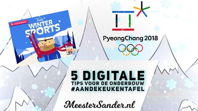 5 digitale tips voor de olympische spelen in de onderbouw - meestersander.nl - kleuters