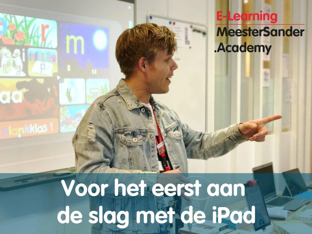 voor het eerst aan de slag met de iPad