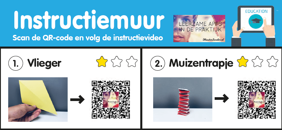 Instructiemuur in de kleuterklas – Instructievideo's door meester Sander