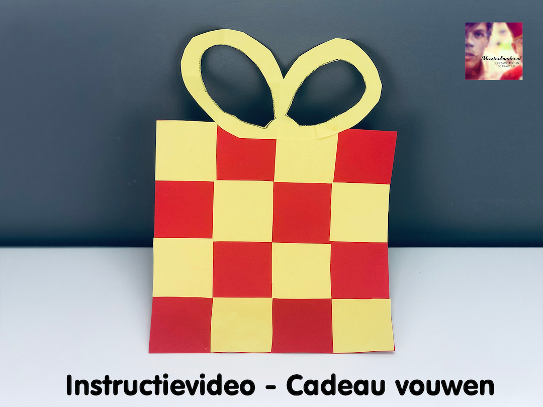instructievideo cadeau vouwen