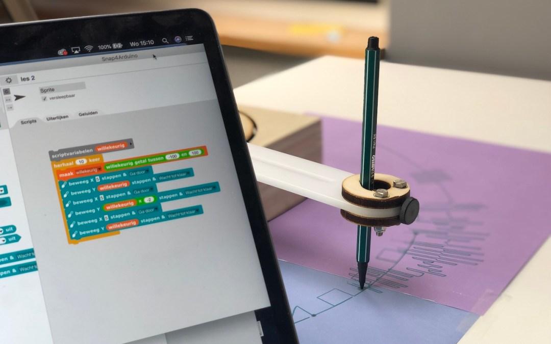 Maak je eigen kunst met GoTo – Creatief aan de slag met programmeren