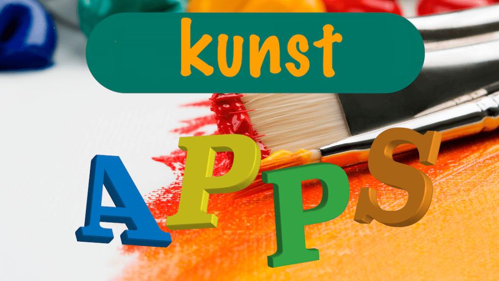 App thema kunst kleuters