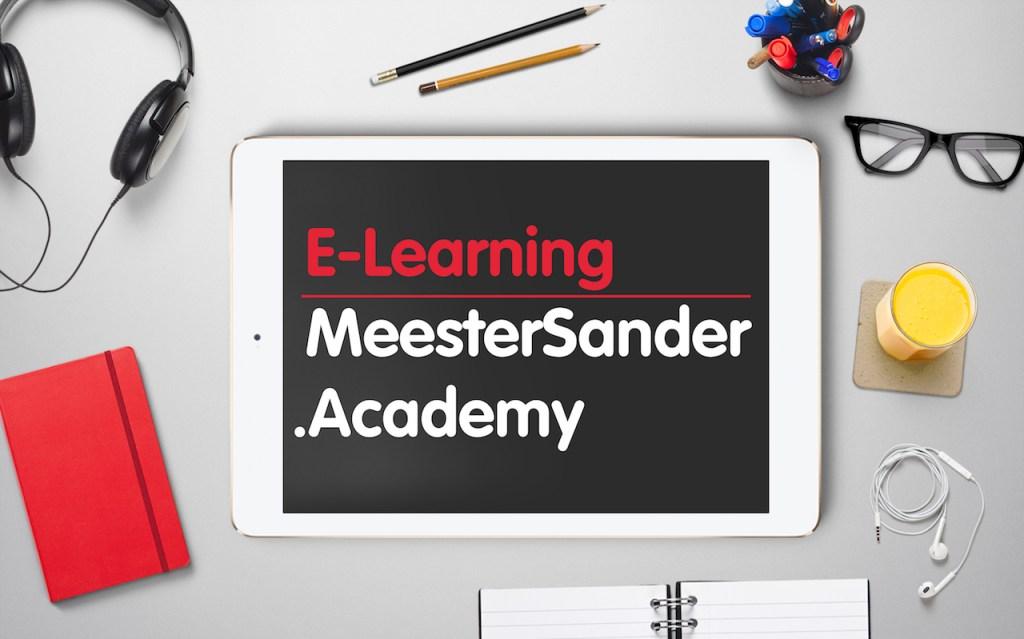 E-learning meestersander.academy