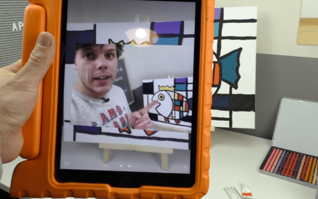 Laat je kunstwerk tot leven komen met je eigen Augmented Reality effect – HP Reveal