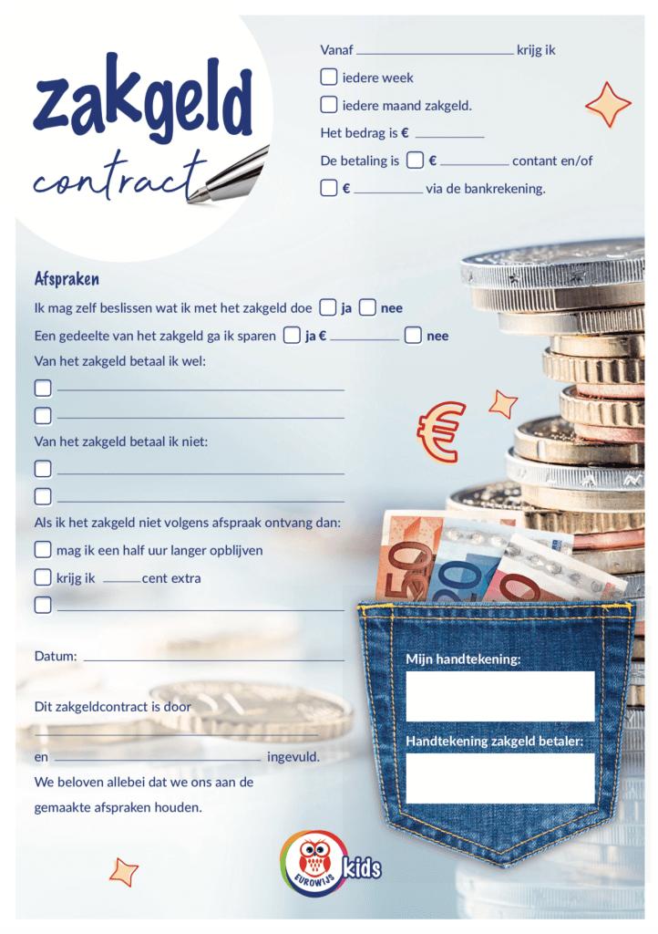 Zakgeldcontract eurowijs kids