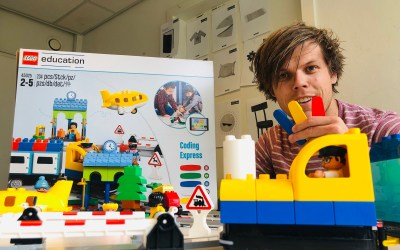 Review Coding express van Lego Education