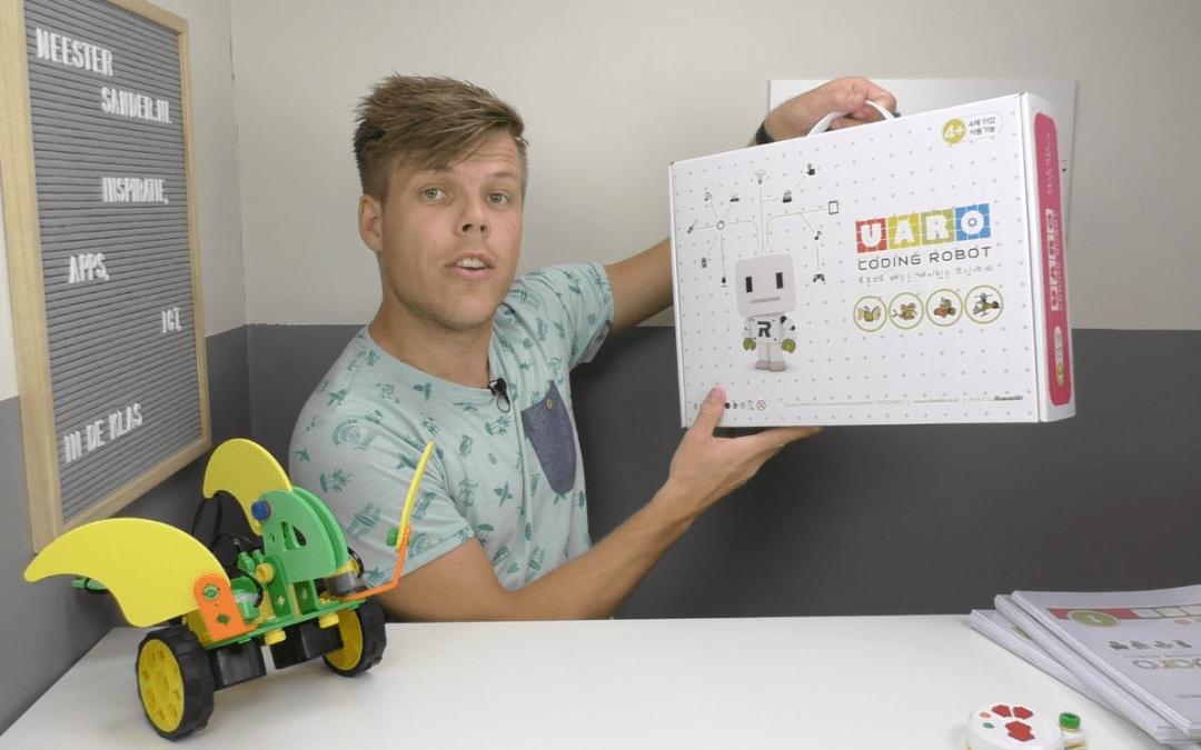 Kleuters bouwen en programmeren hun eigen robots met UARO – Review