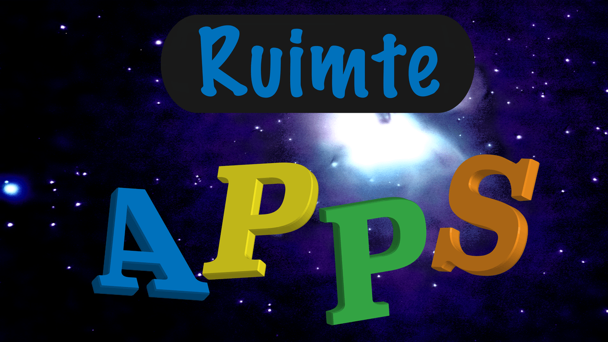 apps thema ruimte