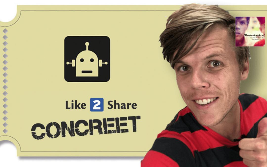 NIEUW: Concreet aan de slag met de tofste materialen voor in de klas – Like2share Concreet