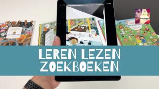 leren lezen zoekboeken met app