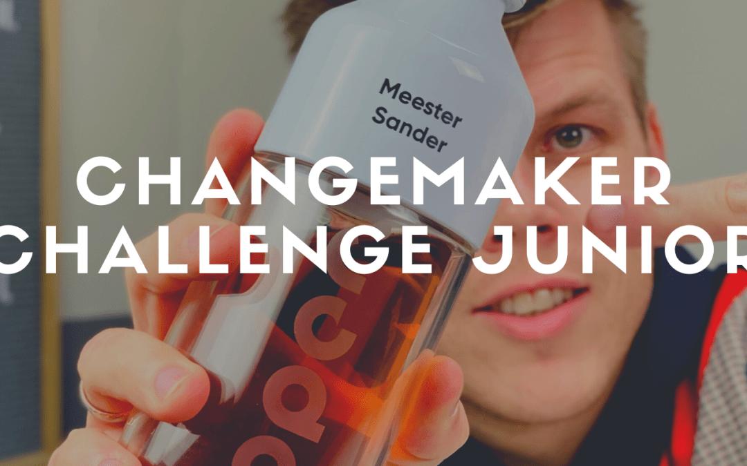 Kinderen ontwerpen een oplossing voor wegwerpplastic – Dopper Changemaker Challenge Junior
