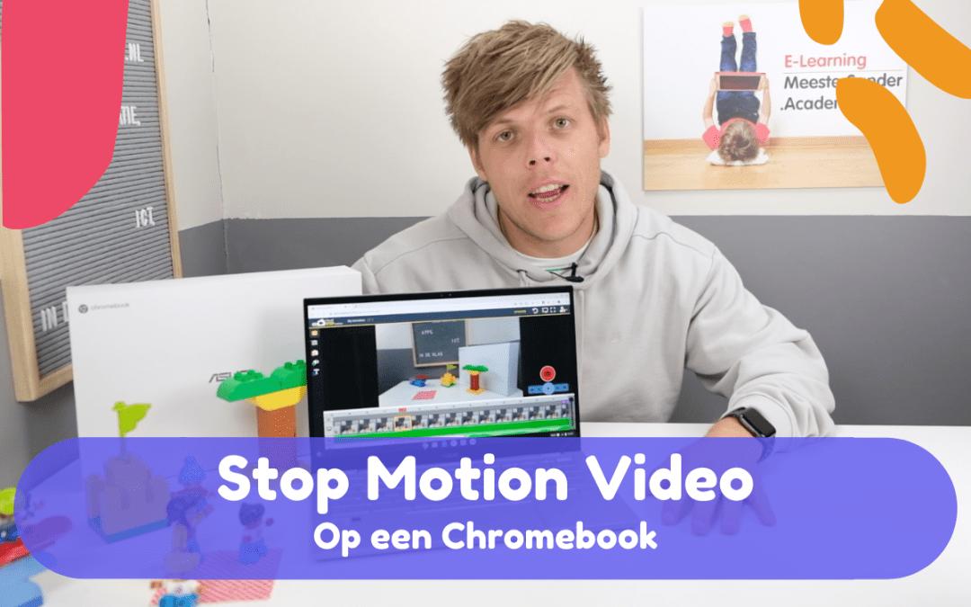 Stop motion video's maken met een Chromebook – Tip van Meester Sander