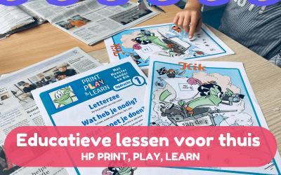 Educatieve lessen voor thuis – HP Print Play Learn