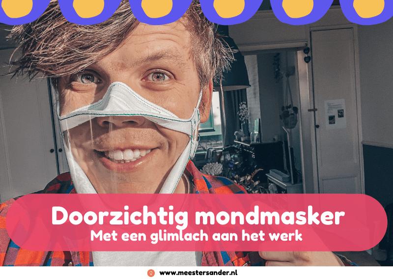 Het mondkapje met een glimlach – Mondmasker voor het onderwijs
