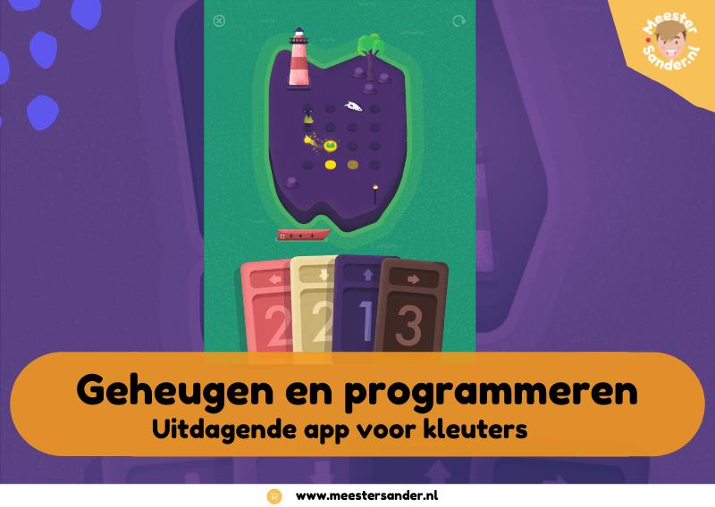Nu Gratis Vestigium – Geheugen en programmeer app voor kleuters