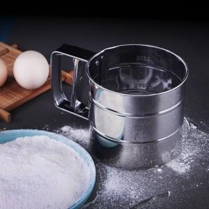 半自動麵粉篩